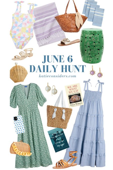 A handful of the June 6 Daily Hunt! Shop all the finds on KatieConsiders.com @liketoknow.it #liketkit http://liketk.it/3h8Ps