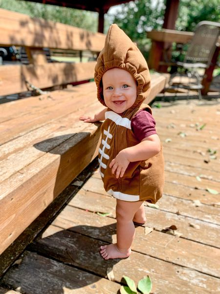 The perfect football outfit for game day! Baby football | Halloween costume | Baby Halloween costume | Football gear  #LTKSeasonal #LTKbaby #LTKunder50