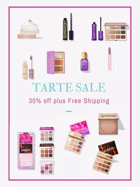 Tarte Cosmetics sale! Use code YAY and get up to 30% off plus free shipping. I've linked my tried and true faves (shape tape concealer, eye shadow palettes) and some other fun items I've bought in the sale I can't wait to try!  #LTKbeauty #LTKunder100 #LTKunder50 #liketkit @liketoknow.it http://liketk.it/3epTD