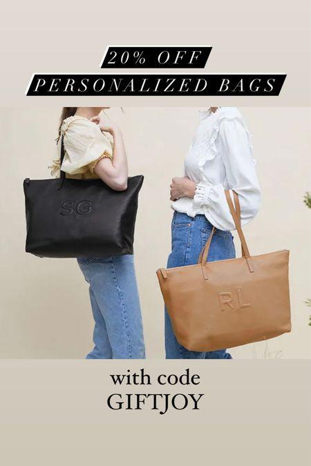 20% off site wide at Leatherology! Includes personalization! Personalized bag, gifts for her, gift ideas, gifts for mom, gifts for sister, work bag, monogram bag, trapunto   #LTKgiftspo #LTKitbag #LTKsalealert