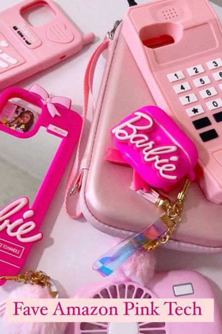 Pink tech faves 💖💖💖