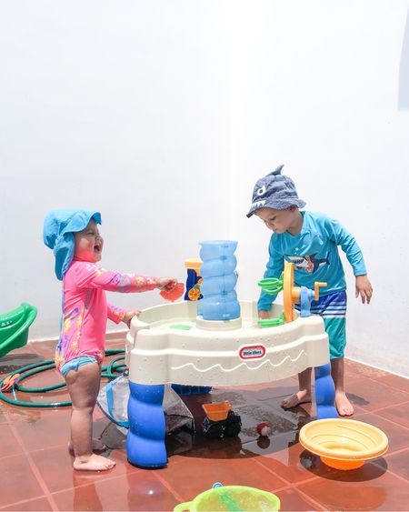 Love this water table for some easy outdoor summer fun for the kids. http://liketk.it/3g1oH #liketkit @liketoknow.it #LTKunder50 #LTKkids #LTKfamily