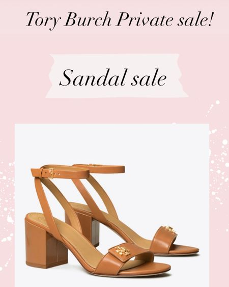 I just picked these up at the Tory Burch Private sale! I needed a new tan sandal so these were perfect. The sizes are limited. http://liketk.it/39oes #liketkit @liketoknow.it #LTKshoecrush #LTKsalealert Shop your screenshot of this pic with the LIKEtoKNOW.it shopping app