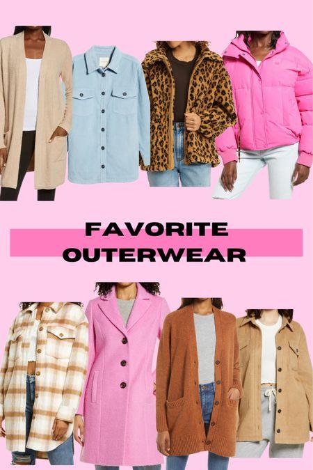 Favorite Outerwear 🎉💕 http://liketk.it/3jDwS #liketkit @liketoknow.it #LTKstyletip #LTKsalealert #LTKunder100