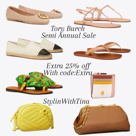 Tory burch semi annual sale extra 25% off with code:Extra http://liketk.it/3iau2  Sandals, shoes, bags, flip flops, card holder. Great deals #LTKsalealert #LTKstyletip #LTKunder100 #LTKunder50 #LTKitbag #LTKworkwear #LTKwedding #LTKshoecrush #LTKtravel #LTKfamily #LTKcurves #LTKbeauty @liketoknow.it #liketkit #toryburch#semiannualsale