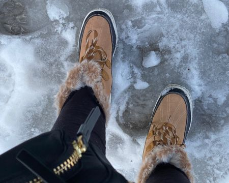 Wore these boots from Target the other day and they were cute and great walking in the snow. I couldn't find the exact match but linked similar ones. They were cute with leggings and I had thick socks on to keep me warm!   http://liketk.it/37Plq #liketkit @liketoknow.it #LTKshoecrush #LTKunder50 #LTKstyletip