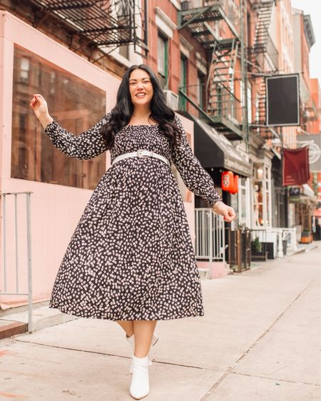 Mercury has gone direct! Yay! We can go back to our regularly scheduled lives now. 💞 I linked this cute floral dress I wore in NYC last week on @liketoknow.it http://liketk.it/2Lreq #liketkit #ltkcurves #ltkunder50