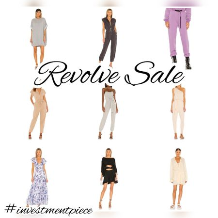 From lounge pieces to party dresses. Fall and summer wear. Stock up. Save for later. Shop the @revolve sale up to 65% off and certain items an extra 20% off! #investmentpiece   #LTKsalealert #LTKunder100 #LTKstyletip