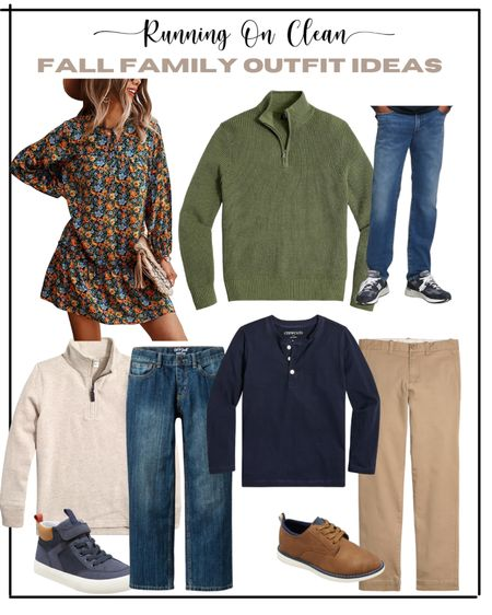 Family outfit ideas for fall family photos   #LTKfamily #LTKkids #LTKSeasonal