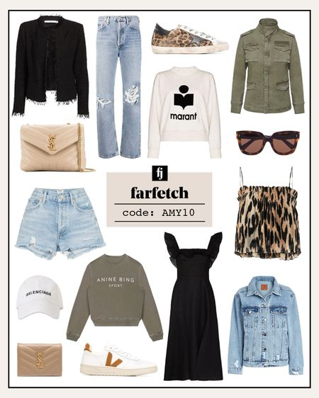 Love these styles from farfetch! Use code AMY10 for a discount on you're first order *exclusions apply  #LTKshoecrush #LTKstyletip #LTKunder100