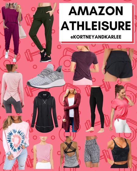 Amazon Athleisure!  Amazon fitness | amazon fitness equipment | fitness lover | amazon fitness finds | amazon fitness favorites | amazon workout clothes | amazon workout tank | amazon leggings | amazon sports bra |amazon workout finds | fitness junkie | amazon athletic finds | amazon athletic wear | Kortney and Karlee | #kortneyandkarlee #LTKGifts @liketoknow.it #liketkit   #LTKunder50 #LTKunder100 #LTKsalealert #LTKstyletip #LTKshoecrush #LTKSeasonal #LTKtravel #LTKHoliday