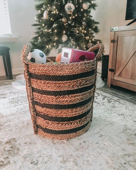 I love this wicker storage basket! Such a great way to store my kiddo's toys in the living room without it clashing with the decor. @liketoknow.it.home @liketoknow.it.family   @liketoknow.it   #liketkit #LTKhome #LTKfamily #LTKkids http://liketk.it/31Ghr   You can instantly shop my home decor by following me on the LIKEtoKNOW.it shopping app