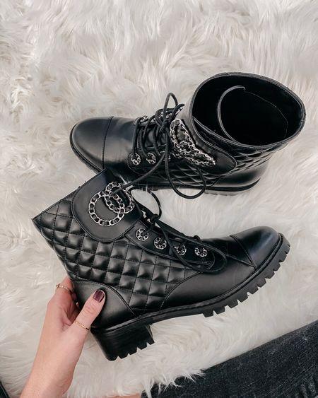 Chanel inspired boots! Code LEE15 for 15% off!   #LTKshoecrush #LTKSeasonal #LTKHoliday