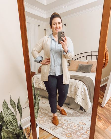 """My favorite throw-and-go work outfit.  This is one of my favorite """"outfit equations.""""  #LTKfit"""