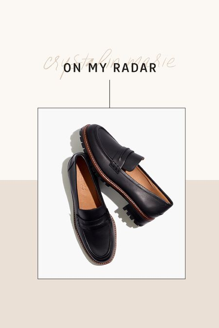 Fall loafers. Madewell loafers   #LTKshoecrush