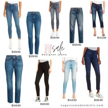 Nsale designer jeans picks! Some of my favorite brands- AG, Paige, Frame, Madewell, and Rag & Bone! #nsale2020 #nsale #jeans #designerdenim #liketkit #LTKsalealert #LTKstyletip #StayHomeWithLTK #shopthelook http://liketk.it/2THoF @liketoknow.it