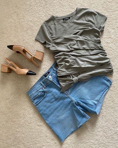 One of my favorite #Express spring outfits! http://liketk.it/3e6ph #liketkit #LTKunder100   #LTKSeasonal #LTKsalealert @liketoknow.it