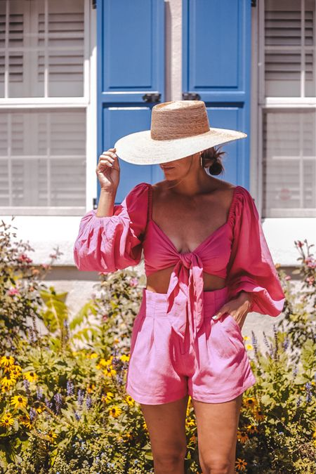 this fun + flirty two piece set is perfect for all your end of summer vacations — I'm in a small   #LTKstyletip #LTKtravel