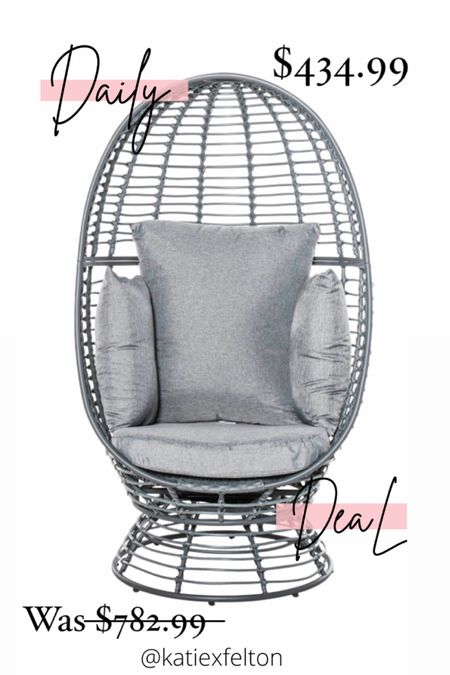 A lot of EGG CHAIR sales from Walmart!!! Many styles back in stock!!! Buy one now for as low as $130!!!! #LTKhome #LTKsalealert #LTKstyletip #liketkit @liketoknow.it.home @liketoknow.it.family @liketoknow.it   You can instantly shop my looks by following me on the LIKEtoKNOW.it shopping app   Shop your screenshot of this pic with the LIKEtoKNOW.it shopping app http://liketk.it/3hEQu