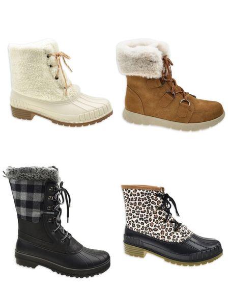 Winter shoes from Walmart   #LTKSeasonal #LTKunder50 #LTKshoecrush