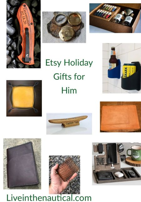 Gift Guides for the Holiday season!  Guys are SO hard to shop for, thankfully Etsy has me covered! I found the most unique gifts that are sure to be a hit for the men in your life! I especially love the drink holder for showers🤣   Shop small this season and support small businesses!   #LTKHoliday #LTKSeasonal #LTKGiftGuide
