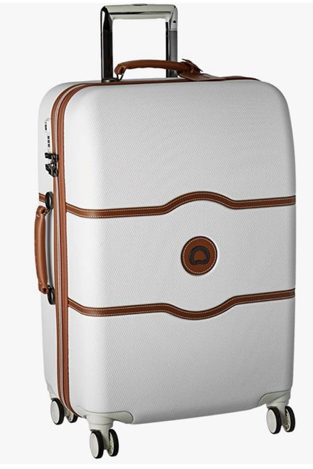 My white Delsey luggage is currently 22% off and on Amazon prime