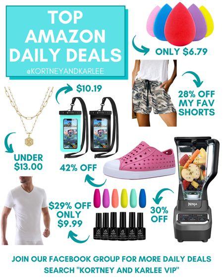 Amazon Deal of the Day Favorites!!!  Amazon daily deal | amazon deal | amazon beauty | amazon finds | amazon favorites | amazon lightening deal | Kortney and Karlee | #kortneyandkarlee #LTKunder50 #LTKunder100 #LTKsalealert #LTKstyletip #LTKSeasonal #LTKbeauty #LTKhome #LTKfit @liketoknow.it #liketkit http://liketk.it/3hT8W