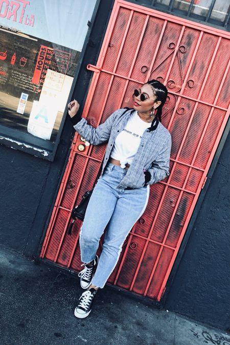 I live for minimalistic graphic tees & cute comfy jeans  #LTKstyletip #LTKfit #LTKunder50