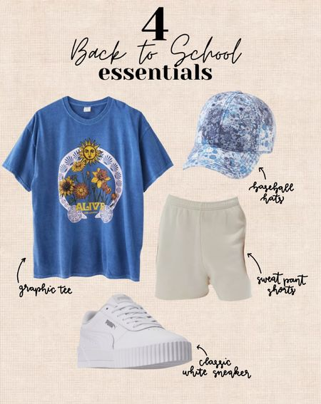 Perfect back to school essentials to wear on campus this fall!   #LTKstyletip #LTKfit #LTKSeasonal