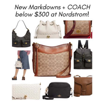 Sale Alert! Coach purses 👜 are my absolute fave and many new styles are on markdown right now at Nordstrom! (I have a feeling this'll be a dangerous relationship between me and Nordy 🤷🏼♀️).     #LTKitbag #LTKFall #LTKsalealert