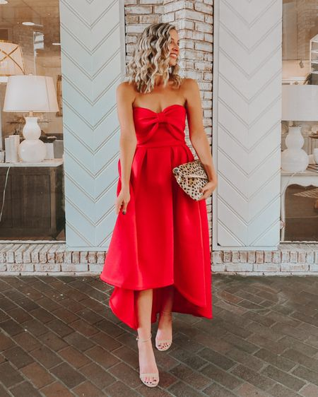 Holiday red dress 50% off + extra 20% off  http://liketk.it/32sQF #liketkit @liketoknow.it #LTKsalealert #LTKunder100 #LTKwedding