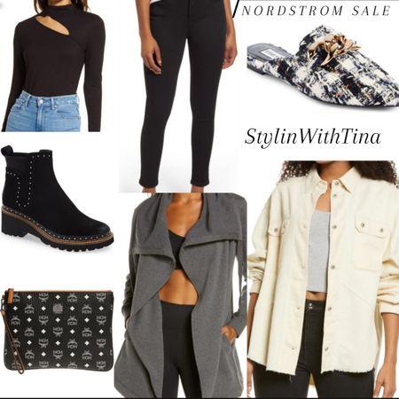 Nordstrom sale outfit ideas. #mules#jeans#boots#shirtjacket #mcmbag#blackjeans http://liketk.it/3jGnR #LTKstyletip #LTKunder50 #LTKsalealert #LTKunder100 #LTKshoecrush #LTKworkwear #LTKwedding #LTKtravel #LTKfamily #LTKfit #LTKitbag #LTKbeauty @liketoknow.it #liketkit