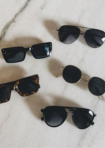 Affordable sunglasses from amazon #amazonfinds