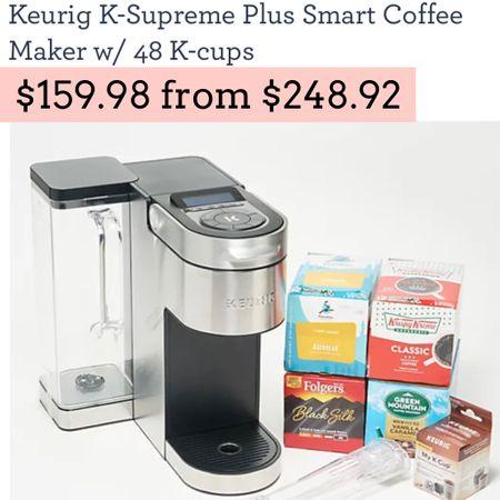 Keurig coffee maker on sale   #LTKGiftGuide #LTKsalealert #LTKhome