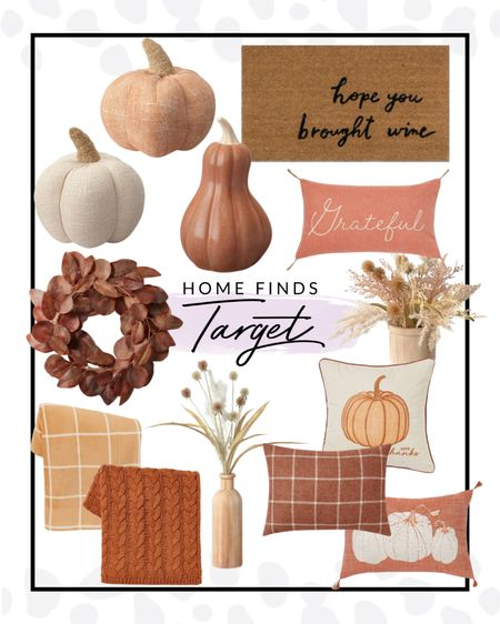 Target has a ton of fall decor right now that I am loving! All under $50 and super cute.   #LTKunder50 #LTKhome #LTKSeasonal