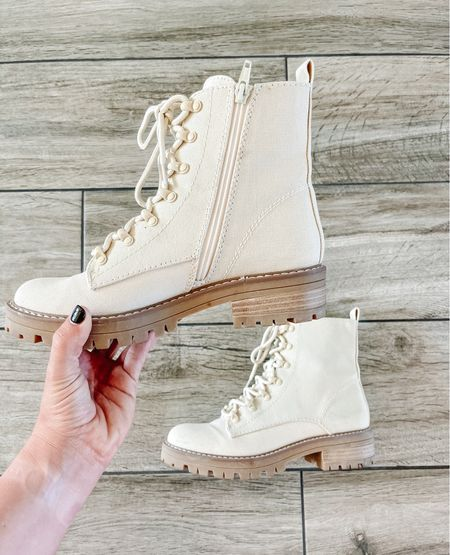 Target combat boots are affordable and comfortable! Perfect to add to your fall look   #LTKstyletip #LTKshoecrush #LTKunder50