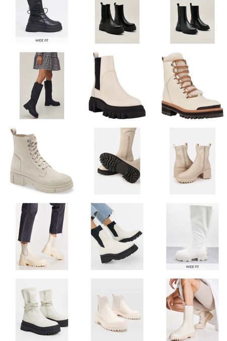 White boots. Beige boots. Black boots. Ankle boots. Gifts for her.   #LTKstyletip #LTKHoliday #LTKGiftGuide