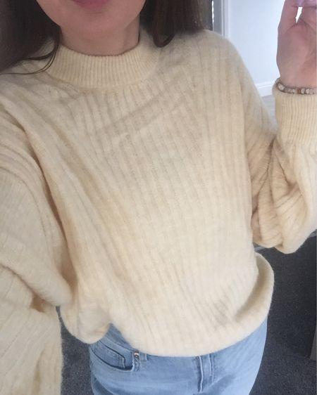 Spring outfit, spring trends, spring 2021, yellow, yellow jumper, knitwear, spring knitwear, spring transition outfit, H&M, H&M jumper, H&M jeans, knitwear outfit http://liketk.it/3aDO8 #liketkit @liketoknow.it @liketoknow.it.europe #LTKSpringSale #LTKunder50 #LTKeurope