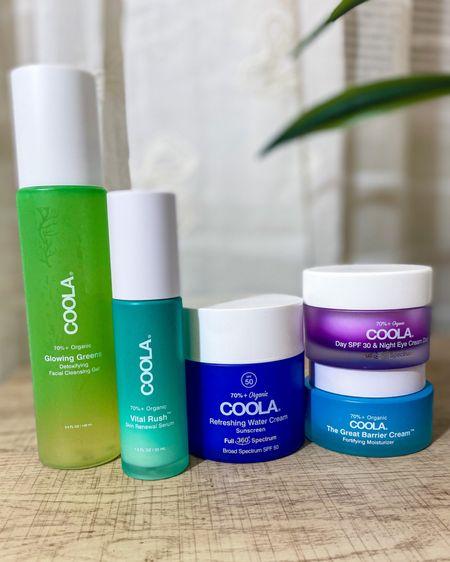 New skincare line by COOLA!🥰🌴 http://liketk.it/3jYvU #liketkit @liketoknow.it #LTKbeauty