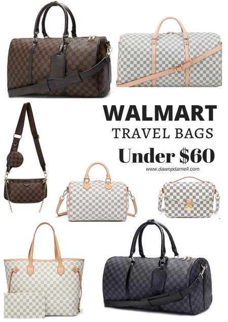 Walmart. Travel bags. LV. Dupe  #LTKitbag #LTKtravel #LTKsalealert