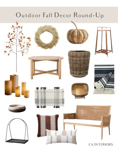 Fall is coming and I rounded up some cute outdoor fall decor for you!   #LTKhome #LTKSeasonal