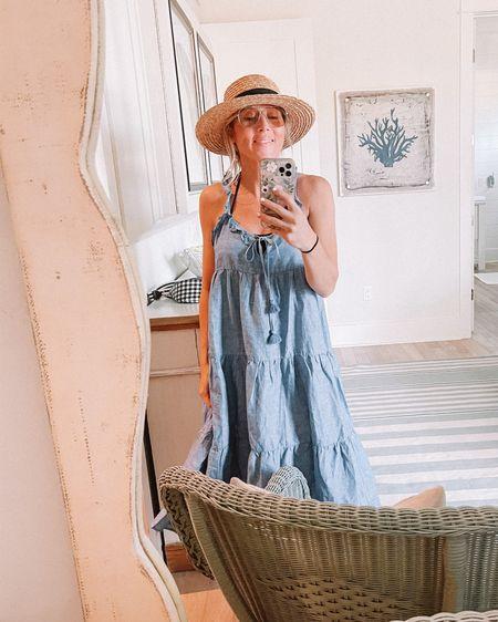 Beach dress & hat http://liketk.it/3gw88 #liketkit @liketoknow.it #LTKtravel #LTKswim #LTKstyletip