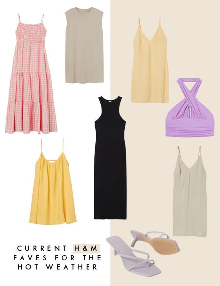 Hot weather faves from H&M! Ideal for the upcoming warm weather as well as the summer season     #LTKeurope #LTKSeasonal
