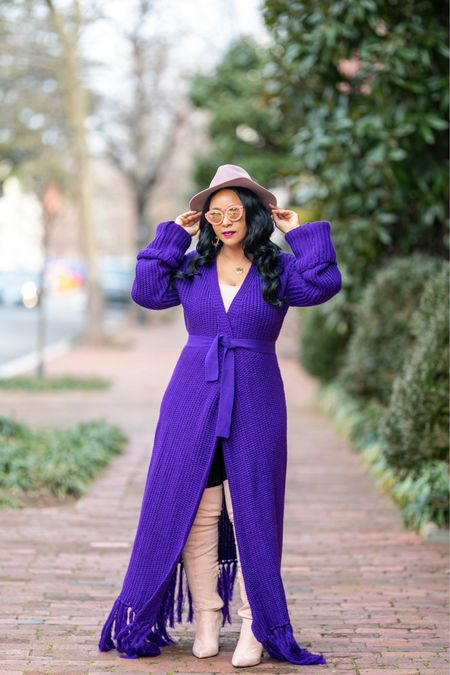 The Color Purple - now on the blog. 💜 (Link in bio 👆🏼 or go to WHATSHAUTE.COM) #whatshaute //   Shop your screenshot of this pic with the LIKEtoKNOW.it shopping app or via http://liketk.it/36yca #liketkit @liketoknow.it