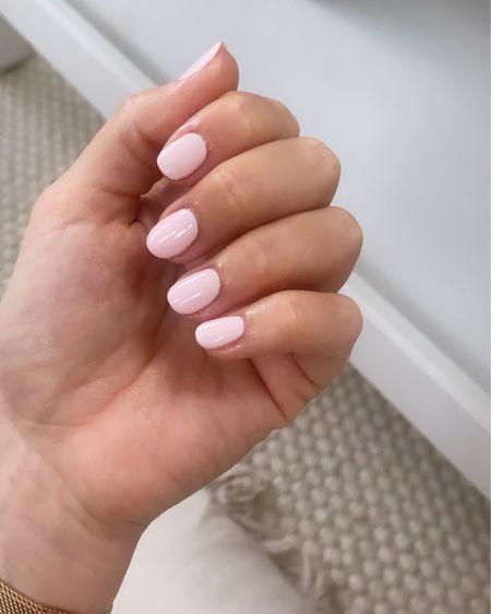 The perfect pale pink gel polish   http://liketk.it/3j6Hg #liketkit @liketoknow.it