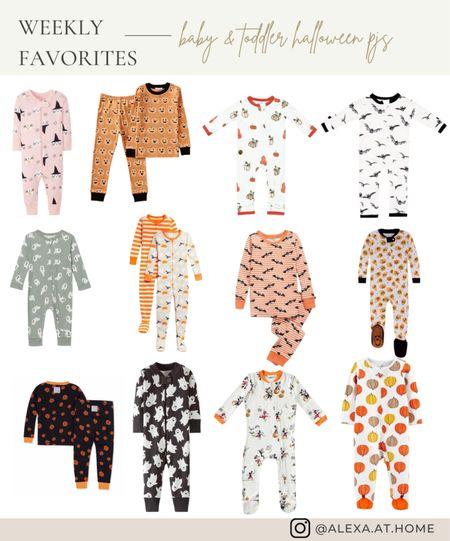 Halloween pajamas // baby pajamas// kids pajamas // kids Halloween pajamas // matching Halloween pajamas // target // kyte baby // burts bees // Hanna anderson   #LTKbaby #LTKfamily #LTKSeasonal