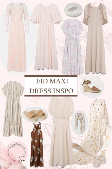 Maxi dress inspiration for Eid x  Spring - maxi dress - modest - floral - espadrilles - summer - high street - under 50    #LTKSeasonal #LTKshoecrush #LTKunder50