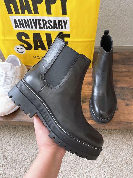 Marc Fisher Chelsea Boots | 1/2 size up | Nordstrom anniversary sale   #LTKunder100 #LTKsalealert #LTKshoecrush
