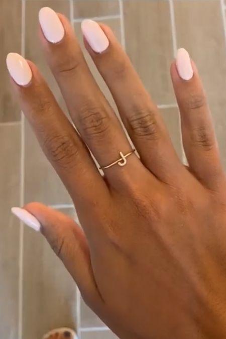 Initial ring!   #LTKSeasonal #LTKGiftGuide