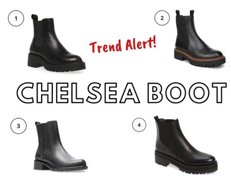 Trend Alert! Last year was all about the lace-up combat boot, and I definitely will wear mine again, but the boot I think will be most popular this fall and winter is the chunky-heeled Chelsea boot.  http://liketk.it/2Z4JX #liketkit @liketoknow.it You can instantly shop all of my looks by following me on the LIKEtoKNOW.it shopping app  #chelseaboot #chelseaboots #trends2020 #fallboots #blackboots